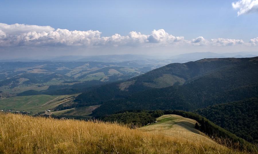 Горы на Закарпатье