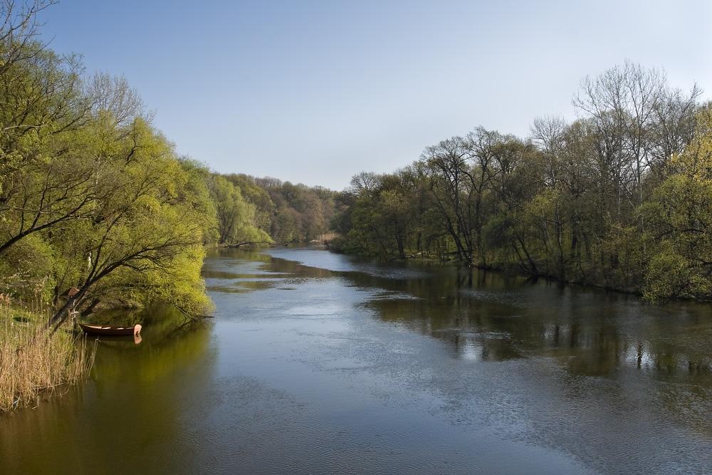 Весна на реке Серевский Донец район Эсхара