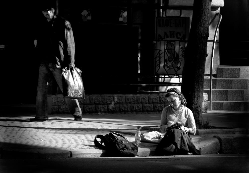 Харьков и харьковчане стрит-фотографии, жанровые фотографии Харькова улица Сумская