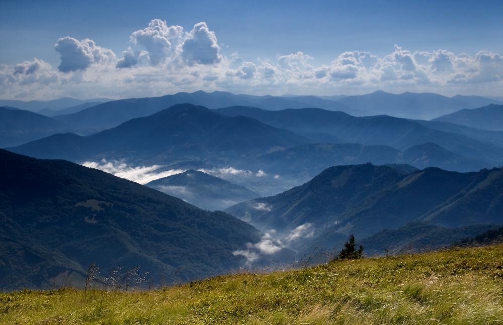 Полдень в горах