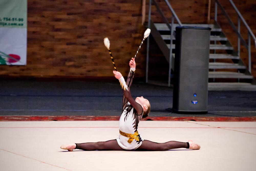 Художественная гимнастика - детские выступления