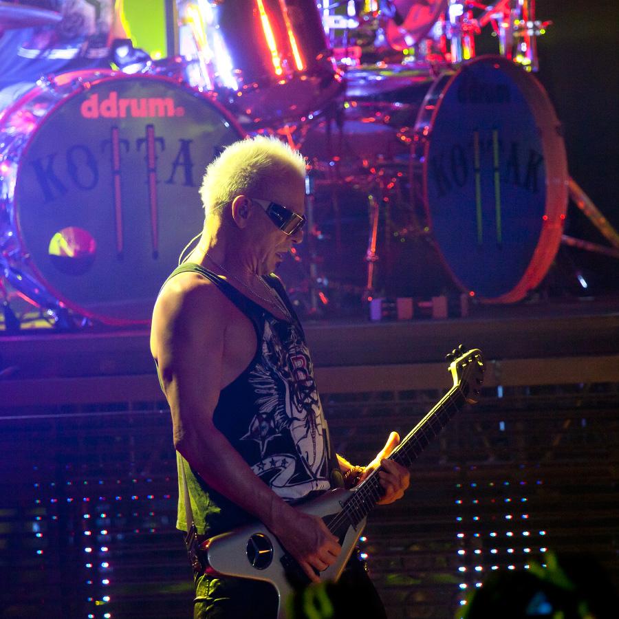 Фотографии с концерта Scorpions в Харькове