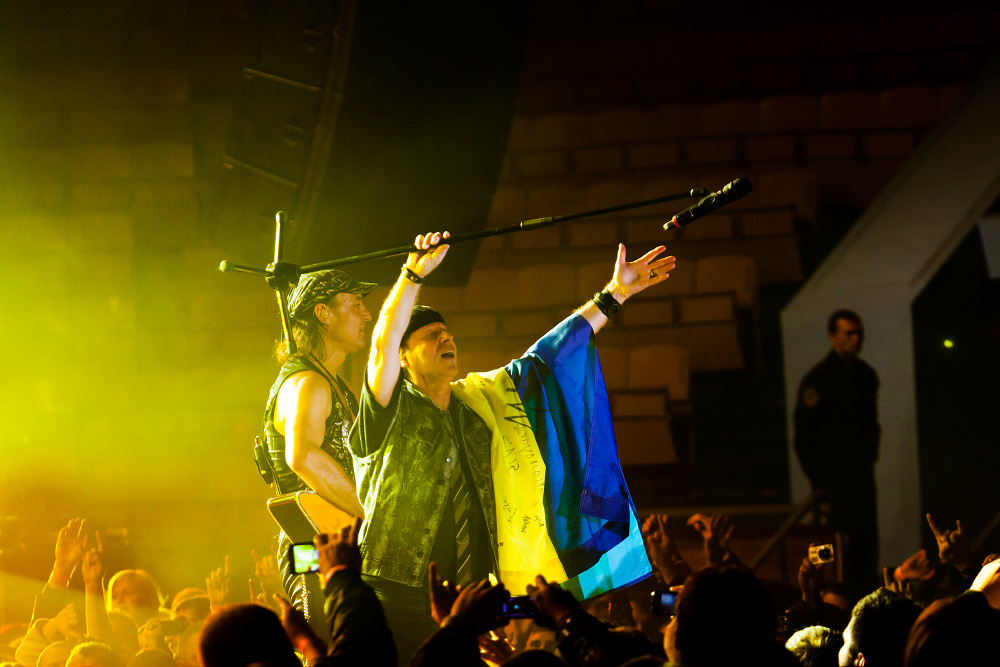 Photos from the concert Scorpions