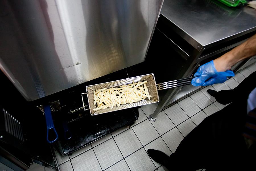 Кухня Макдоналдса - как все устроено