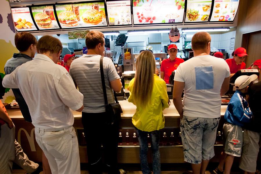 Кухня Макдоналдс