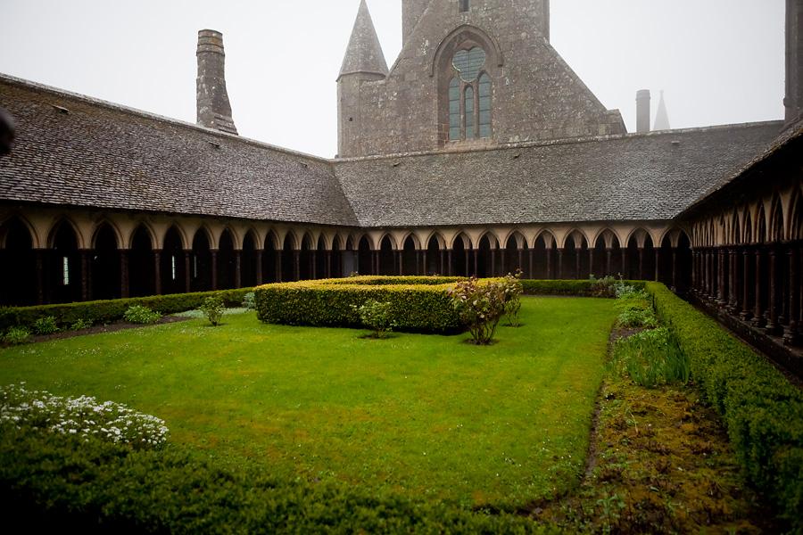 Аббатство Мон-Сен-Мишель, Нормандия
