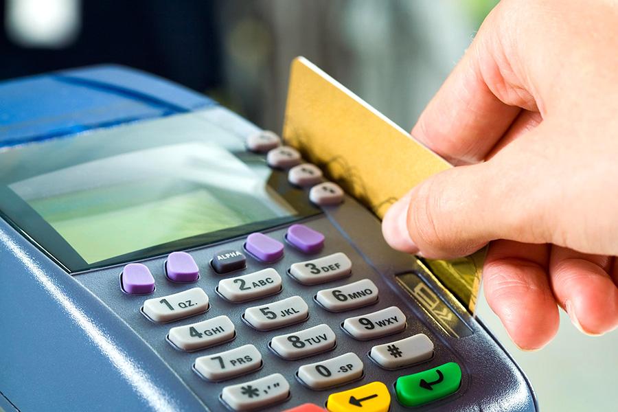 За отсутствие терминала для приема платежей с электронных карт - штраф!