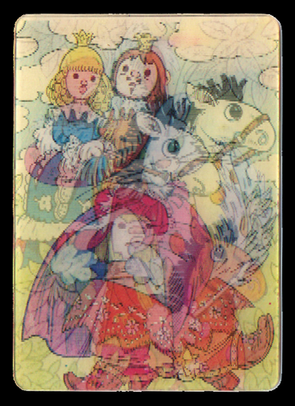 Переливные календарики - забытое увлечение детства
