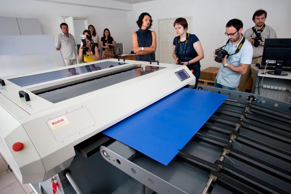 Как печатают открытки в типографии 20