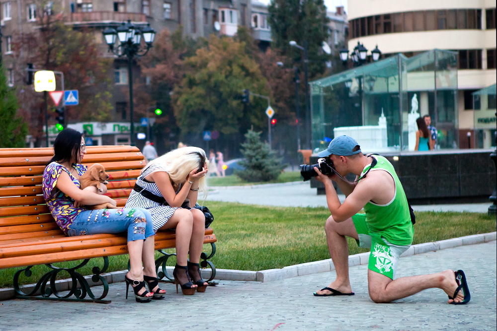 Безопасность и правила поведения при уличной фотосъемке