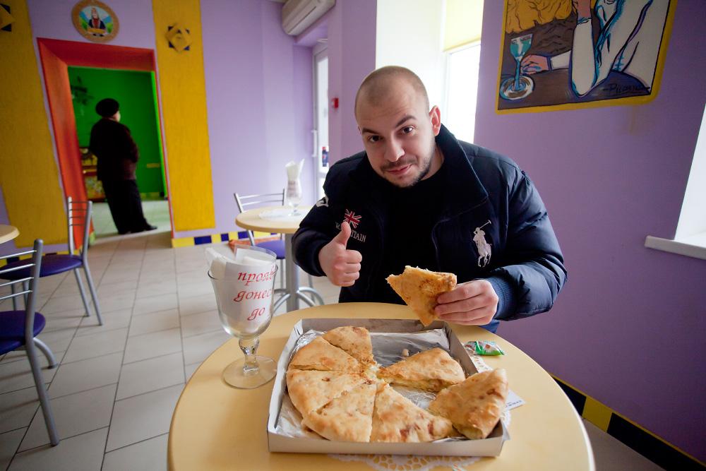 Тайное место с осетинскими пирогами...