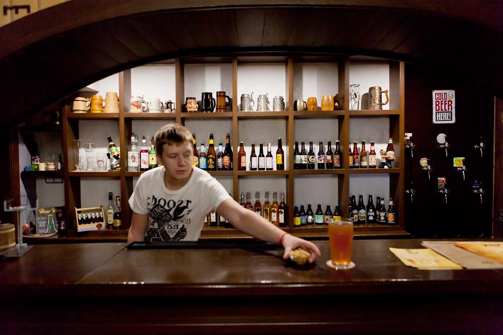 """Паб """"HOPtimist"""" - новый паб с крафтовым пивом"""