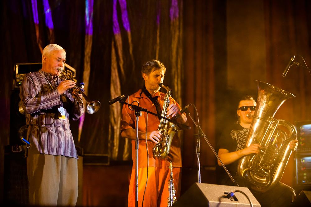 Концерт группы АукцЫон в Харькове