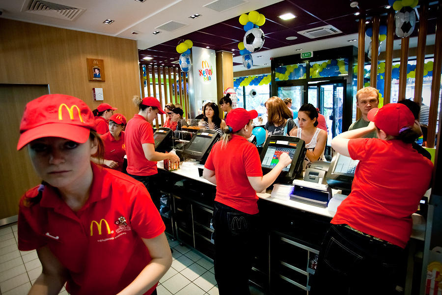 """Кухня """"МакДональдзу"""" - як все влаштовано"""