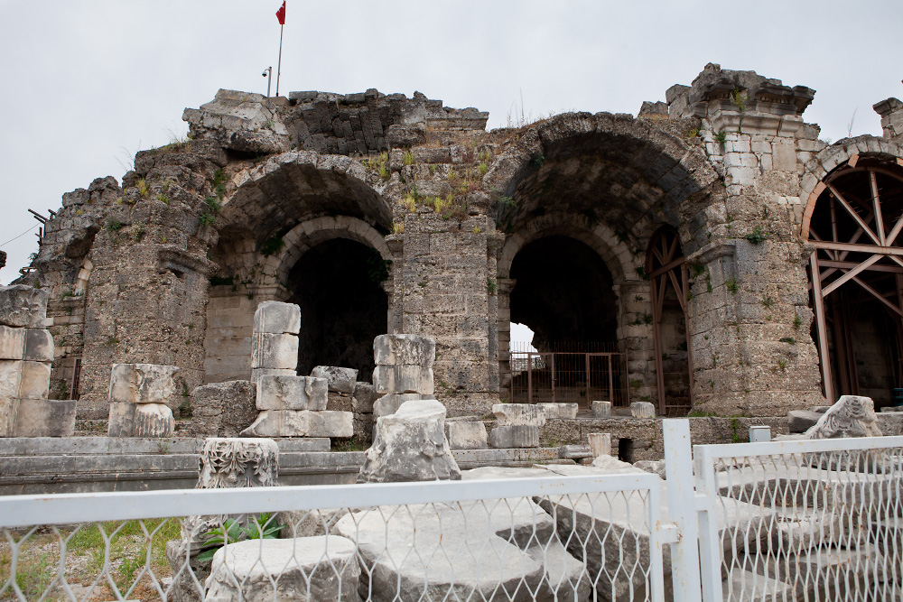 """Не """"пляжная"""" Турция - древние города и гробницы"""