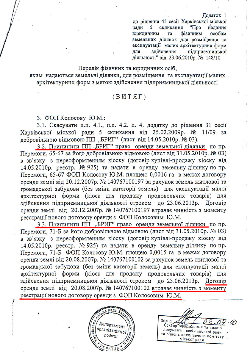 Налоговые рабы, или аренда земли в Харькове...