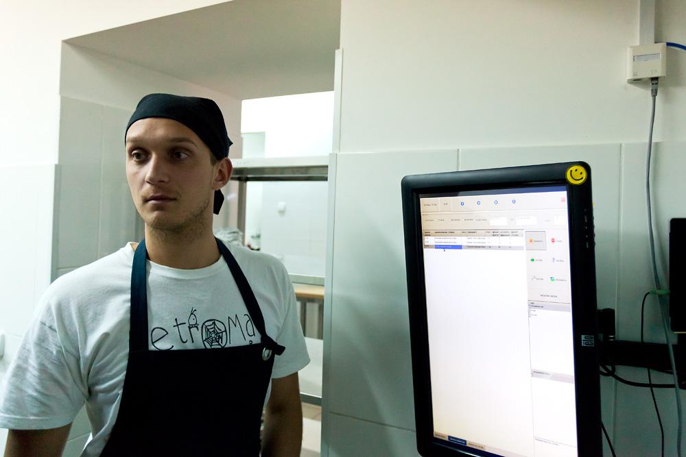 """Кухня ресторана """"Пробка"""""""