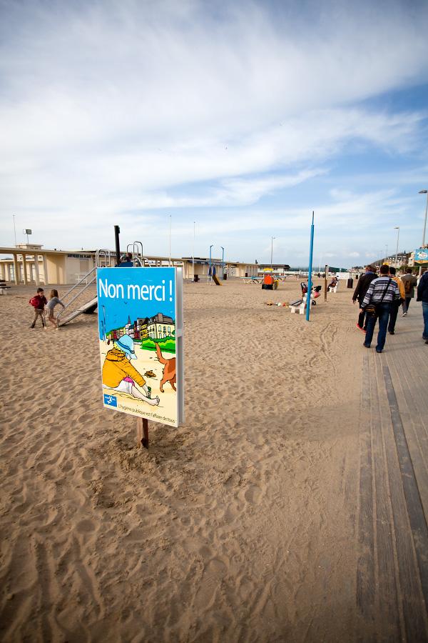 Пляж Довиля как отдельная достопримечательность