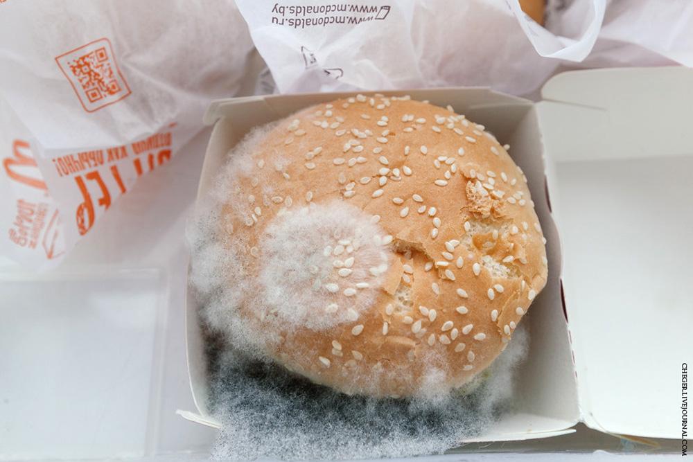 Чи псується їжа з Макдональдза?