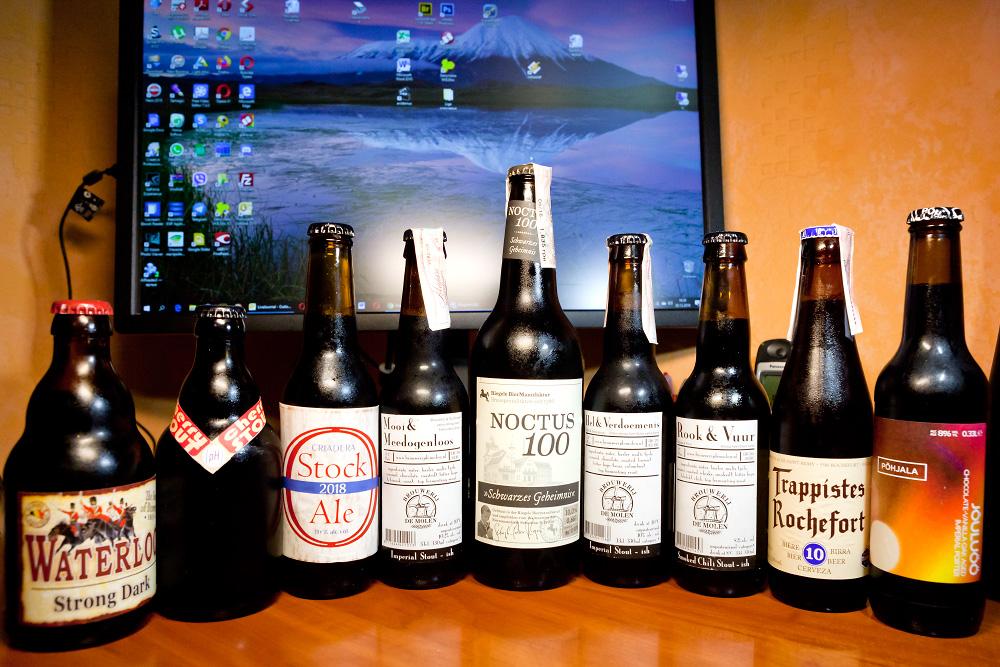 Дегустація пива pHormula, Philosopher, Põhjala, Trappistes Rochefort, Riegele, De Molen. Відгуки про Cherry Stout, Criadera Stock Ale, Jõuluöö, Noctus 100